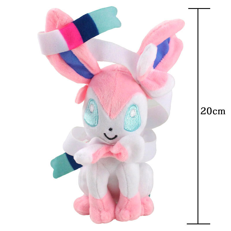 20cm Pokemon Plush Toy Glaceon Leafeon Umbreon Espeon Jolteon Vaporeon Flareon Eevee Pocket Monster Pikachu Poké Xmas Gift 2