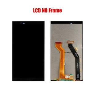 Image 2 - تجميع شاشة LCD لهاتف HTC One E9 plus A55 مع زجاج لمس أمامي ، شاشة LCD E9 plus E9pw أصلية باللون الأسود والأبيض