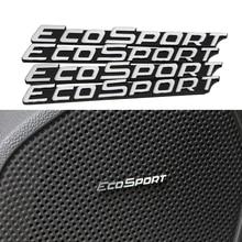 Daefar 3D Алюминиевые аудиоколонки значок стерео Наклейка для Ford Ecosport 2011- аксессуары