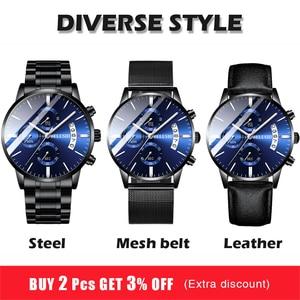 Image 2 - Mens Watch Luxury Brand BELUSHI High end Man Business Casual Watches Mens Waterproof Sports Quartz Wristwatch relogio masculino