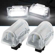 2 pcs LED 라이센스 번호 플레이트 라이트 HID 화이트 for Ford Transit Tourneo MK5 MK6 MK7 Connect Tourneo 4388111 1672263