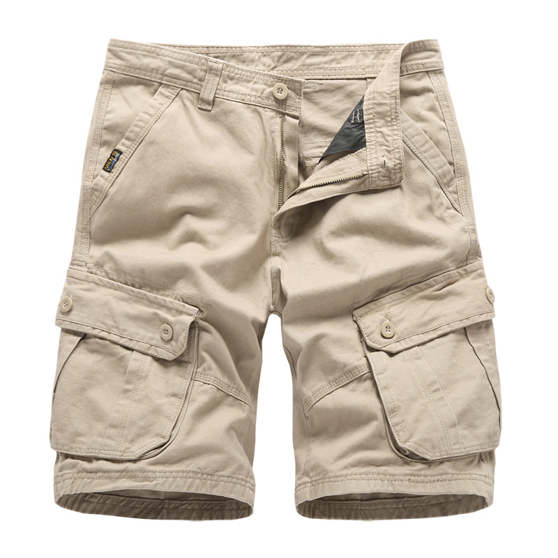 2019 Summer New Products Popular Brand Beach Shorts Men's Pure Cotton Workwear Shorts Large Size Men'S Wear
