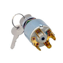 цена на DC 12V Ignition Switch  2 Keys Ignition Switch Electric Door Lock Key Switch Universal for Car Boat Motorcycle Classic Kit