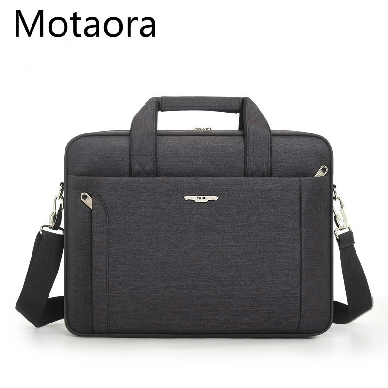 Men Briefcase For 14.6 15.6 Inch Laptop Waterproof Oxford Men's Business Handbag Women Messenger Bag Male Notebook Computer Bags