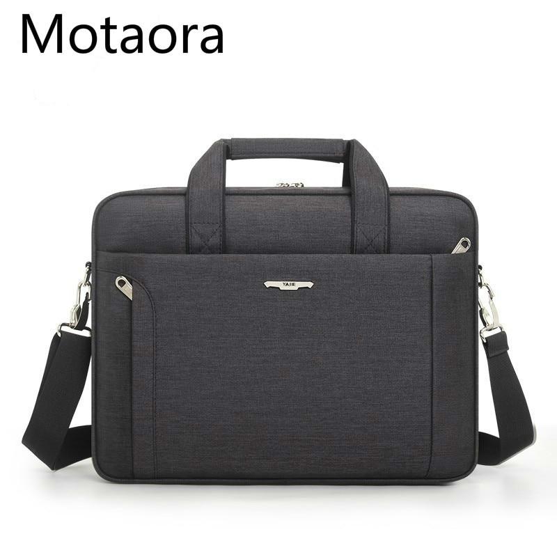 Men Briefcase For 14.6 15.6 Inch Laptop Waterproof Oxford Men's Business Handbag Women Messenger Bag Male Notebook Computer Bags