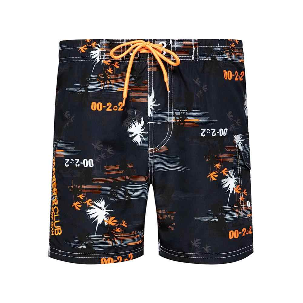 Schwimmen Shorts Männer Bademode Kleidung Casual Mann Badeanzug Sweat-Shorts Badehose Sommer Surf Strand Kurze Männlichen Plus Größe Bord Boxer