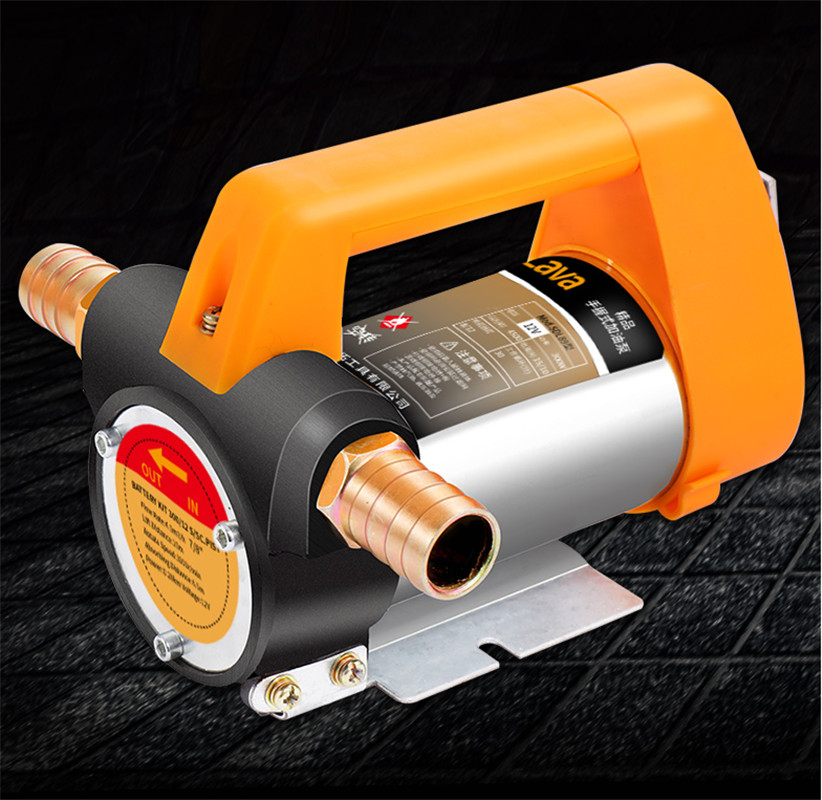 Pompe de transfert de carburant 12V24V/380W 220 V/500 W électrique Auto pompe de transfert d'huile DC/AC kérosène Diesel pompe citerne extracteur d'huile