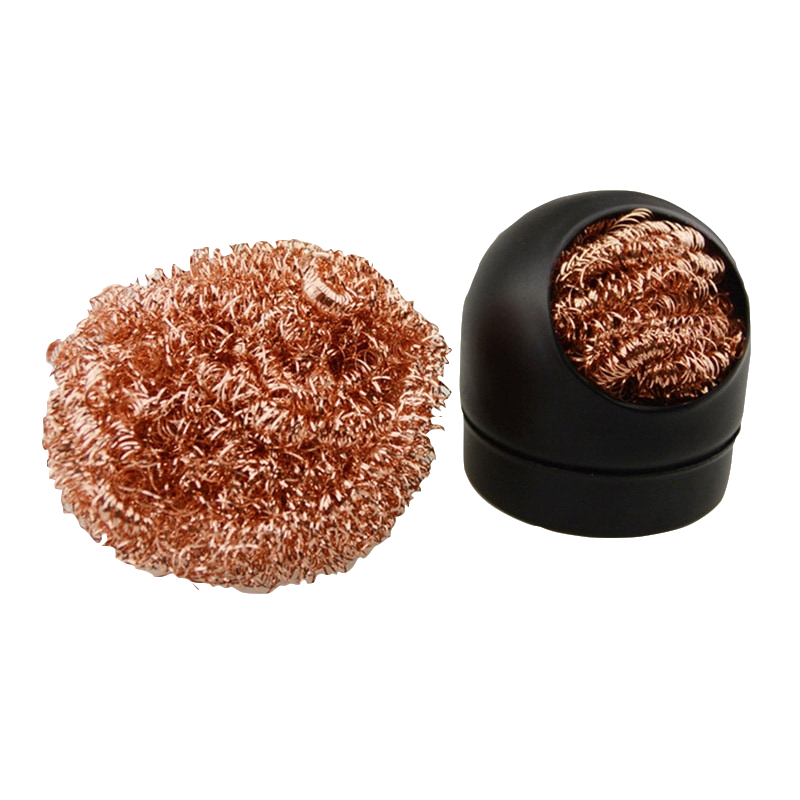 Welding Soldering Solder Iron Tip Cleaner Cleaning Steel Wire Sponge Balls Solder Tip Cleaner Tool Steel Wire Sponge New