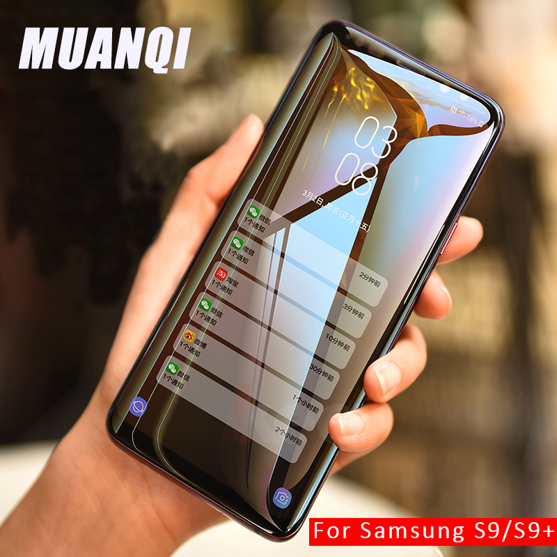 10D Full Coverage Protective Glass Tempered Film For Samsung Galaxy A50 A70 Curved Screen Protector For S6 S7 Edg S9 S8 Plus