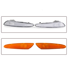 Car Left Right Side Marker Light In Bumper Turn Signal Lamp For Benz W211 E Class 03-06 Styling Accessories