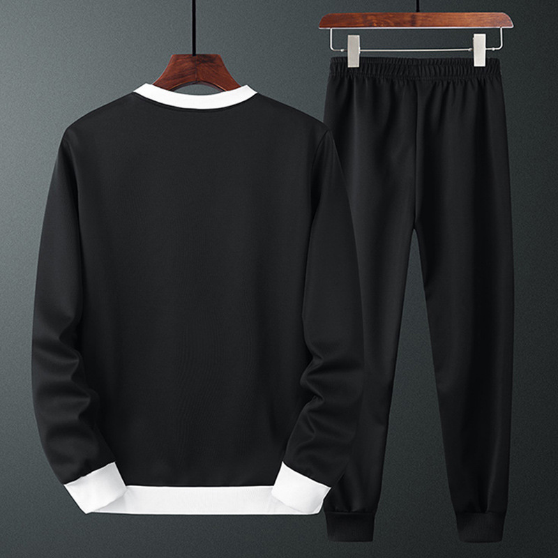 Men'S Wear Autumn And Winter Comfortable Sports Set Men's Long Sleeve Two-Piece Set MEN'S Hoodie Sports Clothing Loose Casual Pa