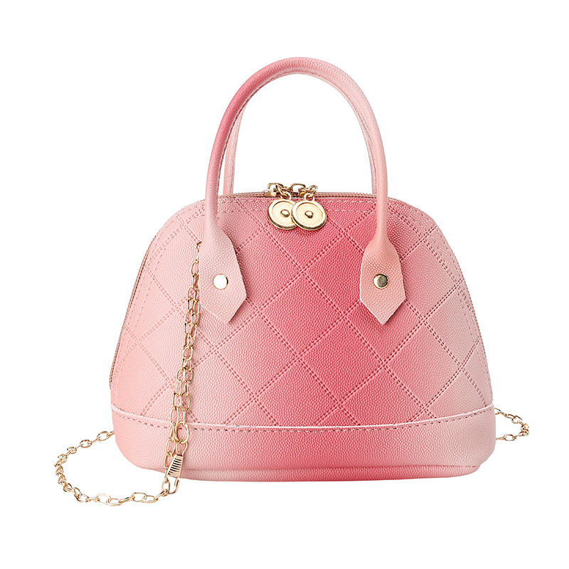 Lady Bags New Fashion Wild Gradient Shell Bag Women's Single Shoulder Diagonal Bag Ladies Chain Shoulder Multifunctional Bag