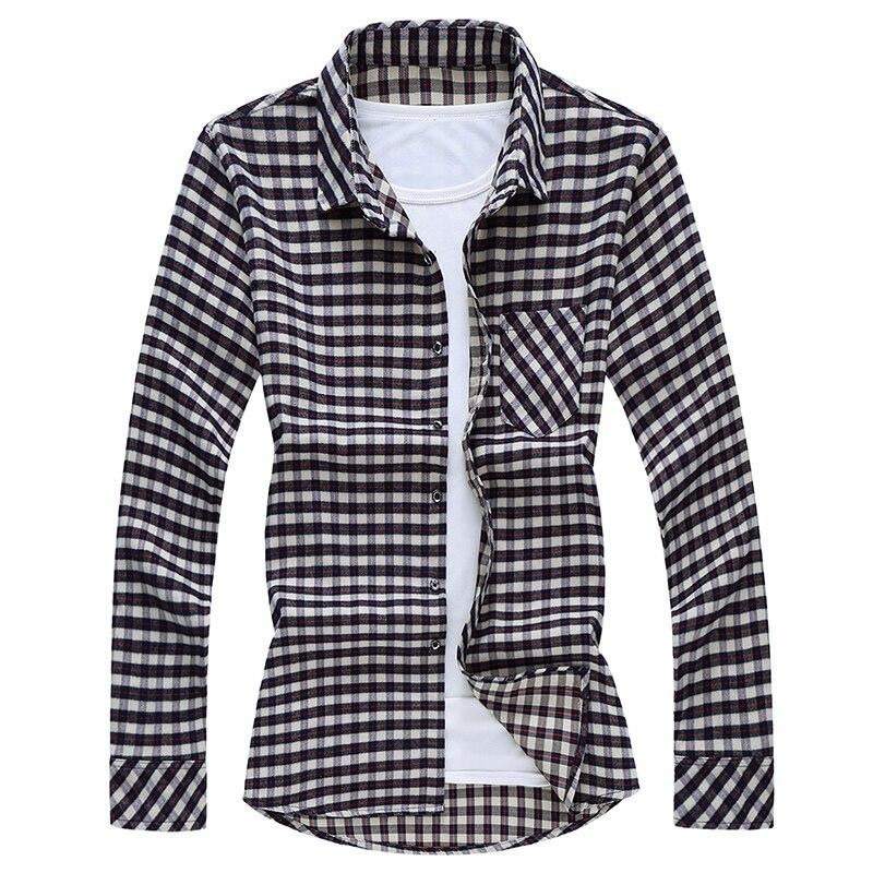 Рубашка мужская s Slim Fit с длинным рукавом, рубашки мужская рубашка в стиле кэжуал, осенняя клетчатая рубашка Social A08