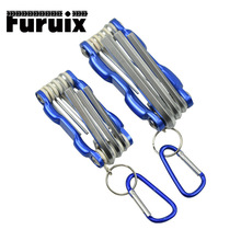 Wrench Multitool Tools Set With Upgrade Alloy Steel Grip Folding Hex Key Set For Hex Head Socket Screws