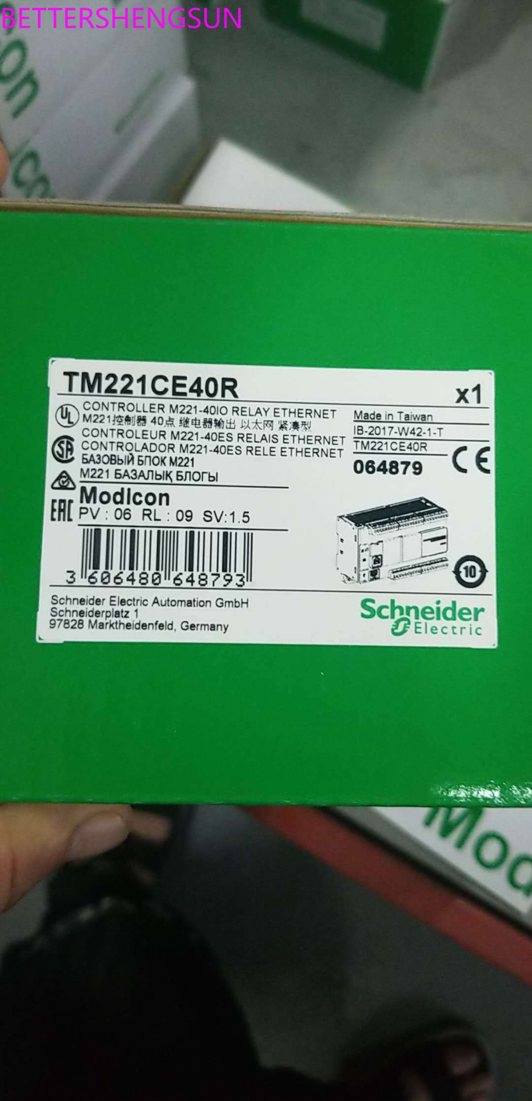 PLC Module TM221CE40R New Original Package