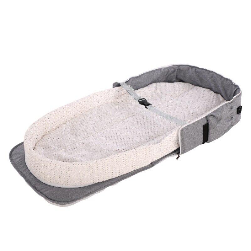 novo bonito portatil berco para bebe dobravel 01