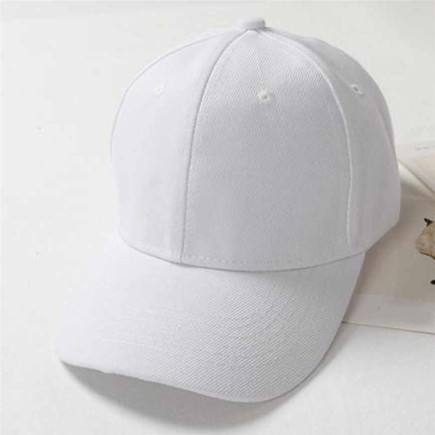 Fashion Kasual Unisex Fahsion Bisbol Topi Snapback Topi Hip-Hop Dapat Disesuaikan Topi Pelindung