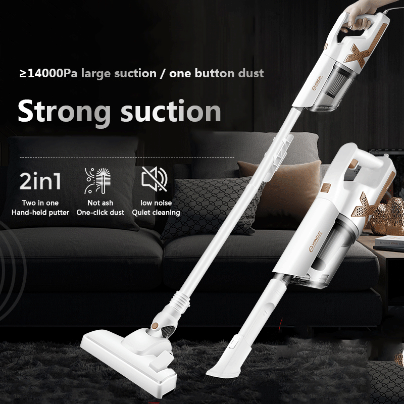 Household Portable Carpet Vacuum Cleaner Handheld Cyclone Electric Mop Large Suction Dust Removal Sweeping Sweeper Rechargeable