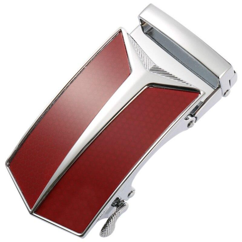 New Men's Leather Strap Male Automatic Buckle Belt 3.5cm Men Authentic Girdle Trend Belts Ceinture Fashion Designer  LY136-1314