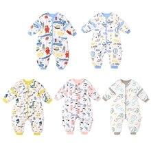 Sleepwear Wearable Baby-Sleeping-Bag Toddler Winter Kids Autumn Cotton for Jumpsuit
