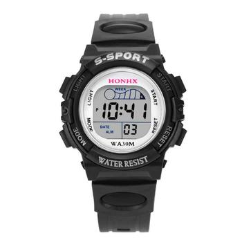 Waterproof Children Casual LED Sports Digital Watch Kids Alarm Date Wristwatch Clock Boys Gift Reloj Hombre Relogio Masculino 2