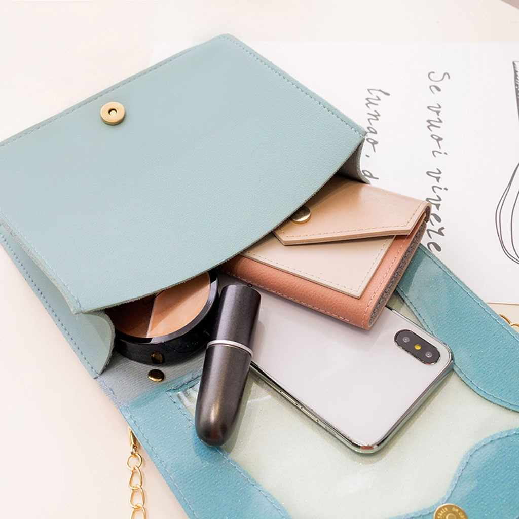 Leuke Meisje Lock Keten Schoudertas Messenger bags Kwaliteit PVC vrouwen Designer Handtas Britse Mode Eenvoudige Kleine Vierkante Tas