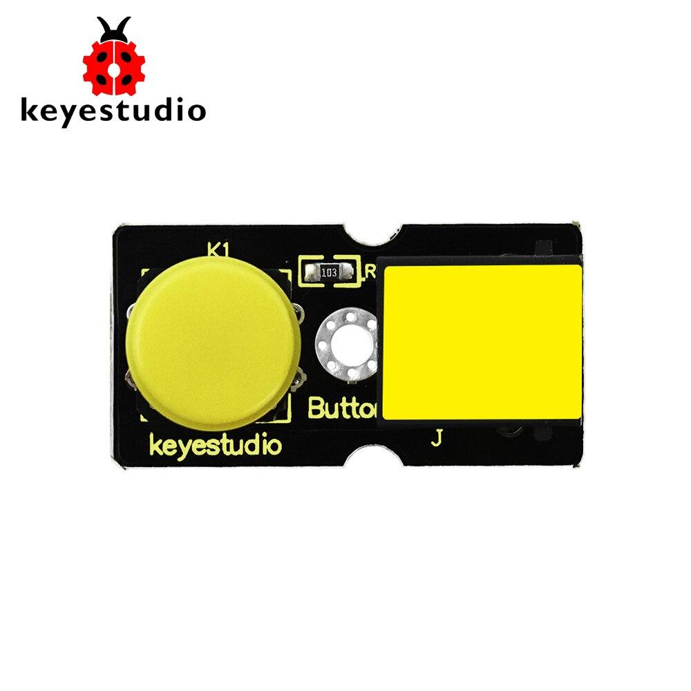 New! Keyestudio EASY Plug Digital Push Button Module For Arduino STEAM
