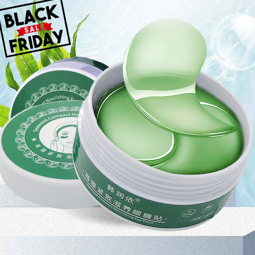 Collagen Gel Eye Mask 60pcs Whitening Anti-Puffiness Patches Face Care Anti Wrinkle Masks Remover Dark Circles Eye Gel Eye Skin