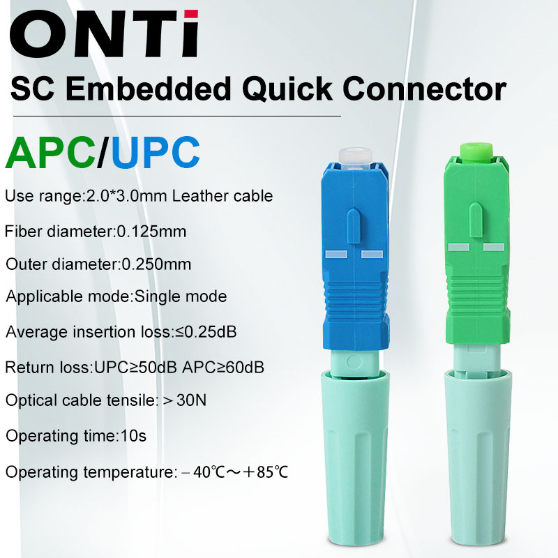 Ftth-Tool Cold-Connector-Tool Sc Apc Fiber-Optic Onti Single-Mode New SM