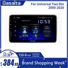 "Dasaita 10,2 ""IPS pantalla 2 Din Radio Android 10 Carplay para coche Universal Android auto navegación GPS Bluetooth HDMI"