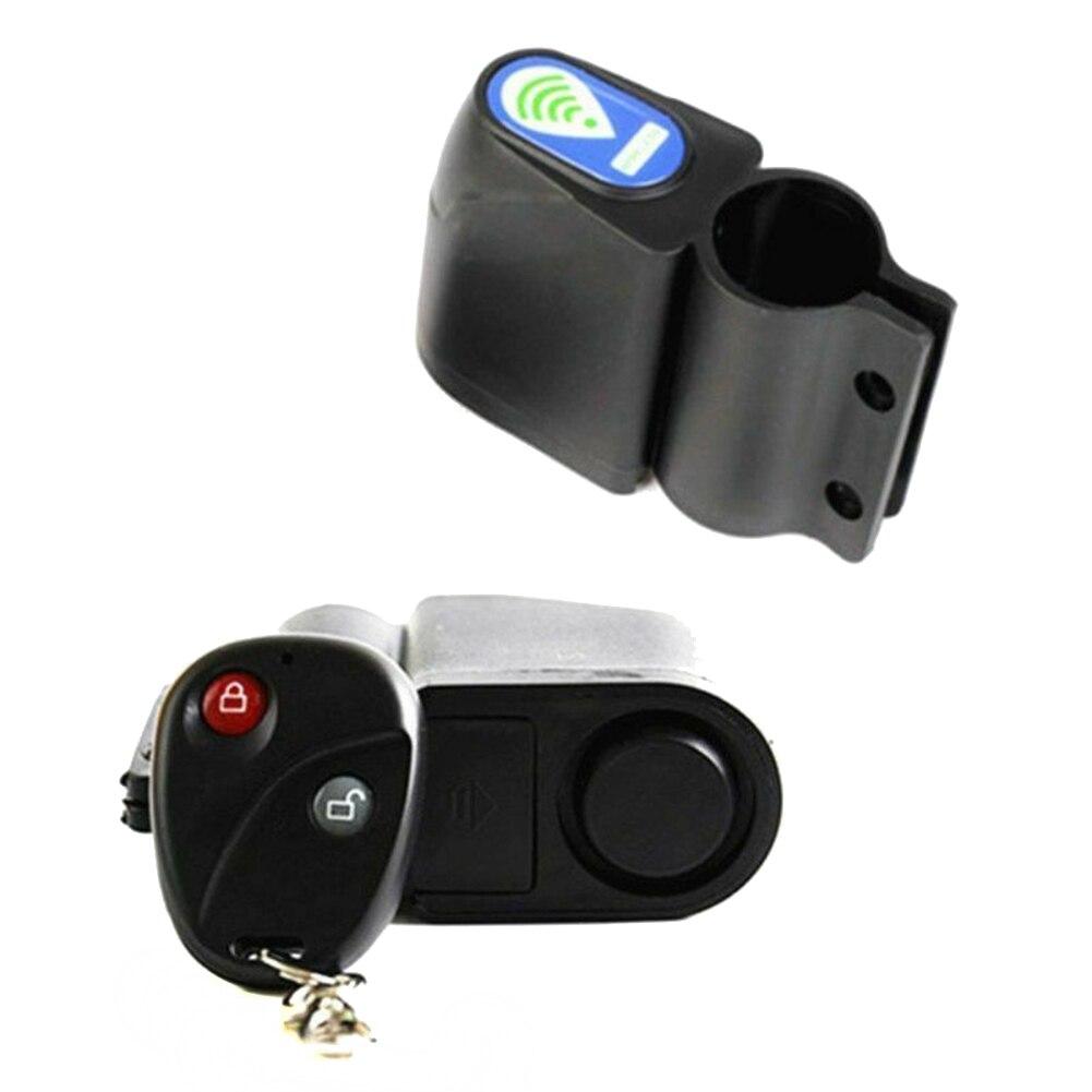 Bicycle Lock Bike Security Lock Wireless Remote Control Alarm Anti-theft Sound L