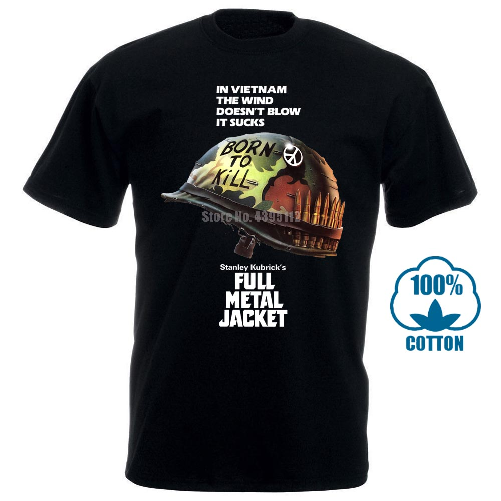 Full Metal Jacket Stanley <font><b>Kubrick</b></font> Vintage Movie T Shirt Size S To 4Xl image