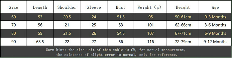 Newborn Baby Rompers Long Sleeve Line Soft Clothes Cotton Jumpsuit