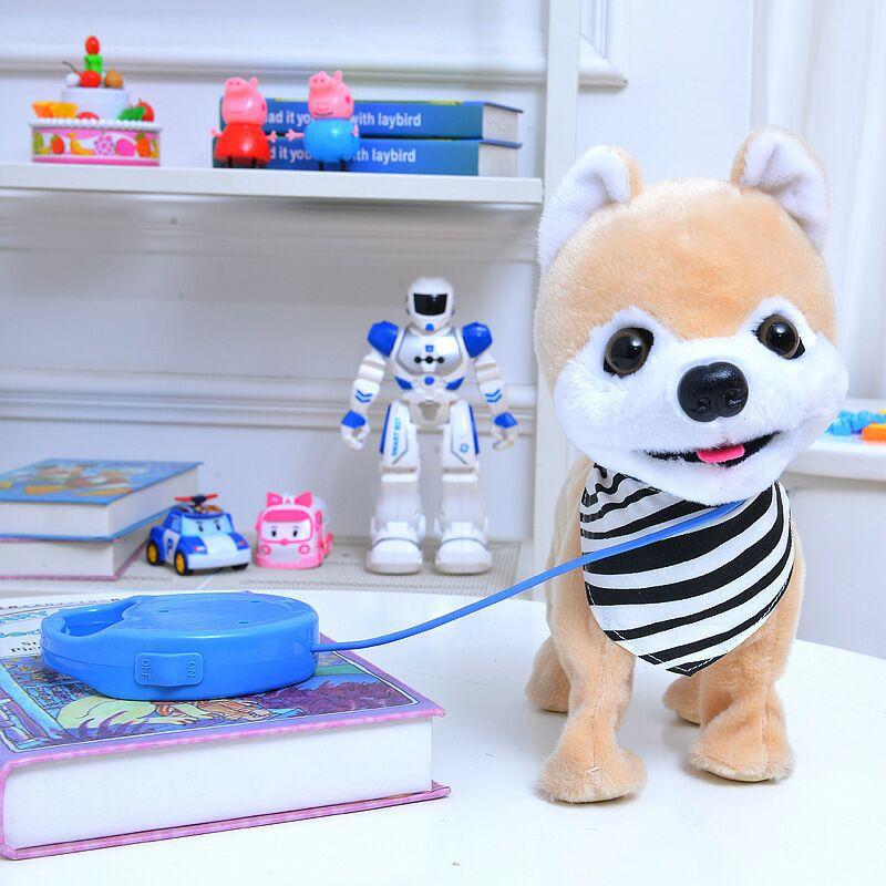eletronico pet filhote de cachorro trela teddy 03