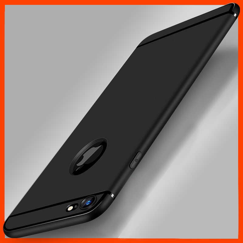 Funda de silicona ultradelgada para iphone 7 6 6s 8 X carcasa Coque blando colores caramelo TPU caja mate del teléfono para iphone 7 8 plus XS MAX XR
