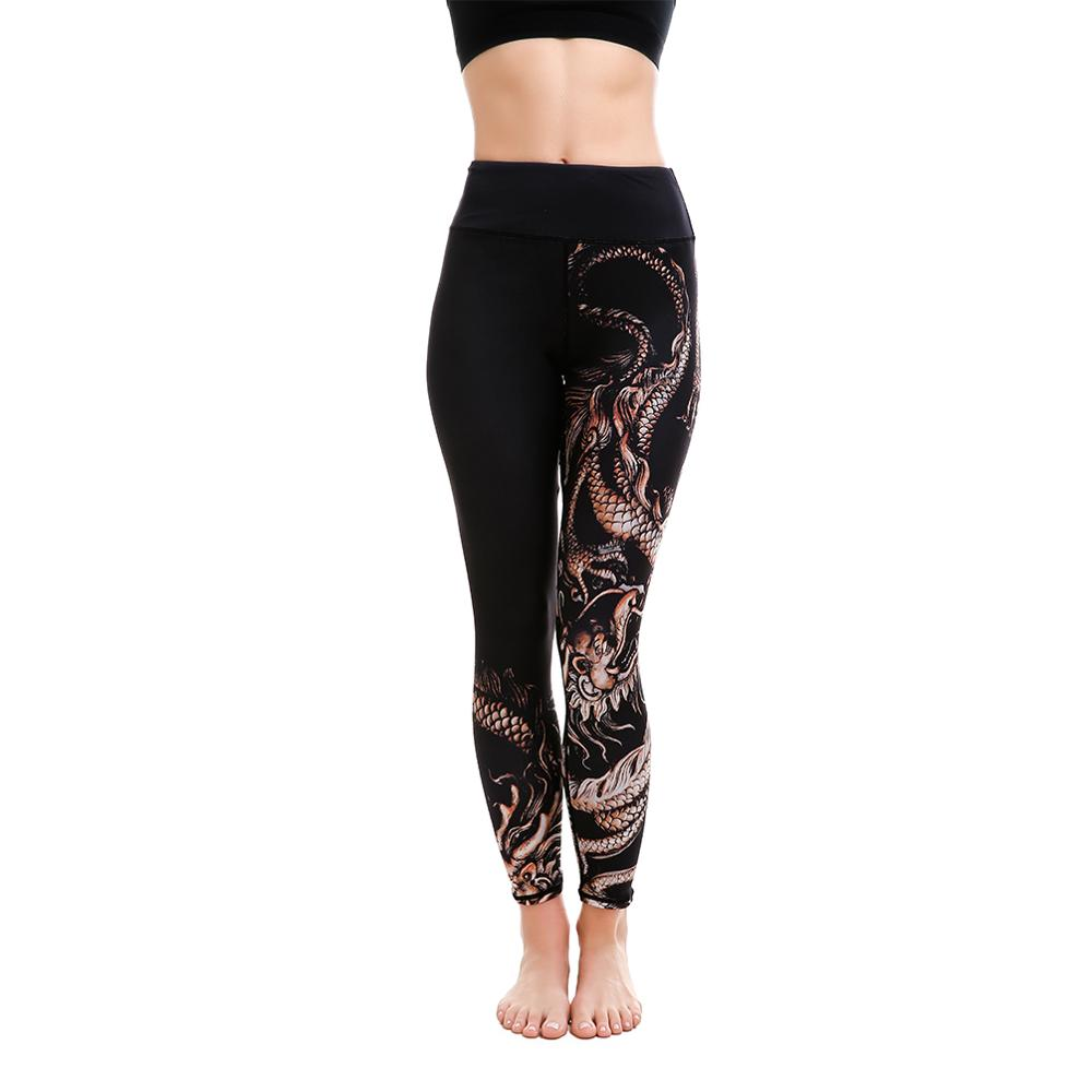 LOTUS Elastic Force Sportswear Outdoor Breathable Polyester Fitness Leggings Workout Casual Sporting Summer Autumn Leggings