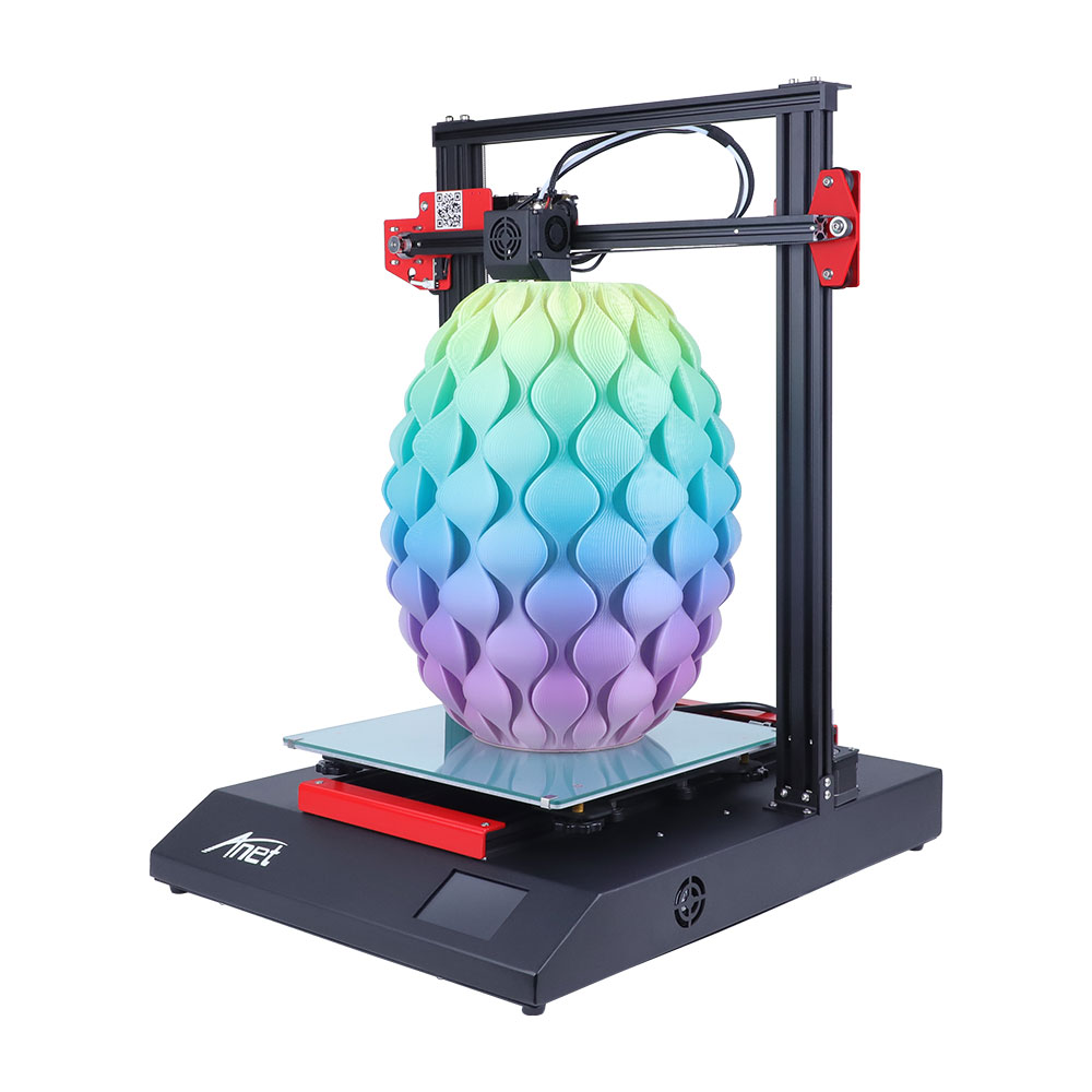 2020 New Arrival Large Printer Anet ET5 All Metal Printer Auto-Leveling DIY 3D Printer With 300*300*400mm Printing Size