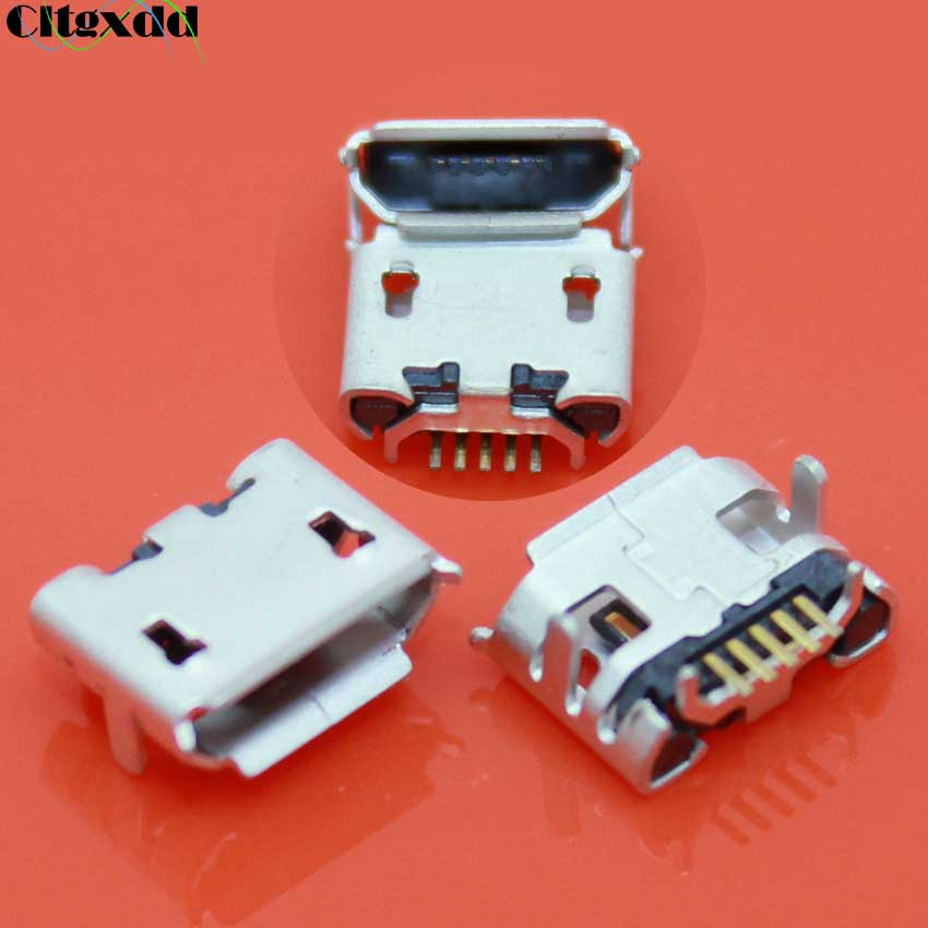 Cltgxdd Micro USB 5pin Female Connector Charging Socket for Huawei U8100 U8150 U8800 C8300 T8300 C8150 U8860 C8500 C8600 V845