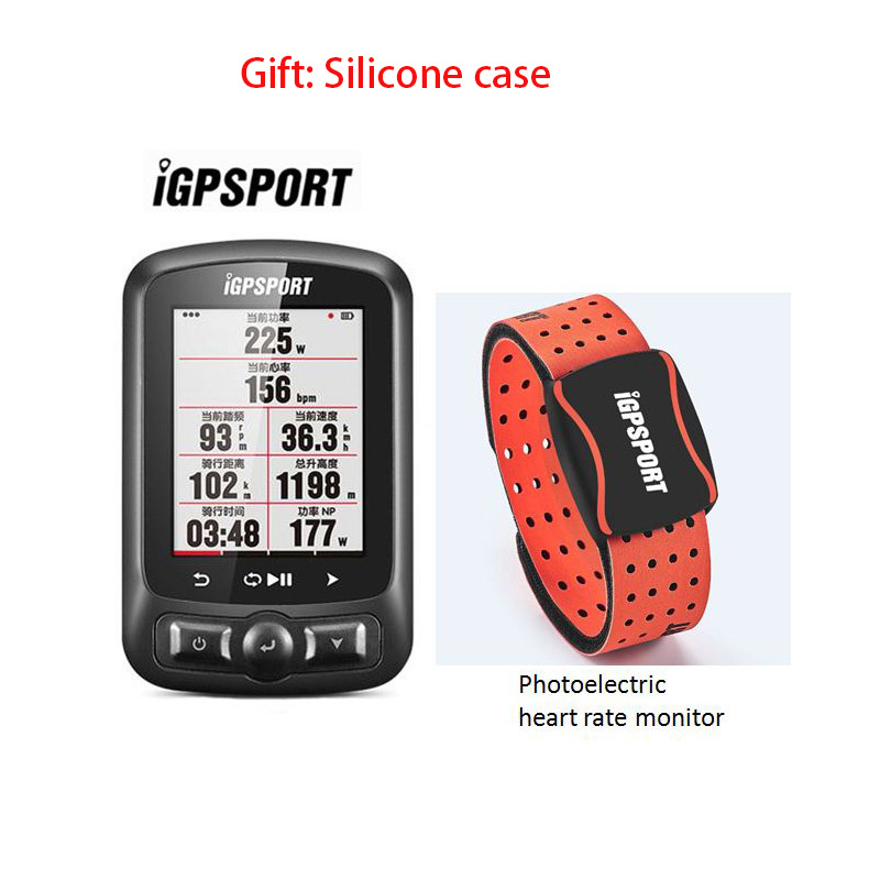 IGPSPORT Igs618 Cycling Computer With Accessories GPS