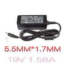 19V 1.58A Charger Laptop Dell Inspiron MINI 9 Adaptor Mini 10 1010 Laptop Power Supply A90 PP19S PP39S carregador Portatil(China)