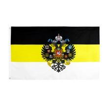 Jennifer 90x150cm nós subindo deus russo com eua águia rússia império imperial bandeira