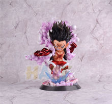 One Piece Luffy Gear 4 Snake Man Q Ver.  PVC Action Figure Model Toys Collectioin Anime Figure Toys Statue In Box Gifts 10'' 2019 11cm q posket princess figure toys mulan princess action figure model collection pvc toys b862