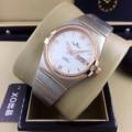 Reloj de zafiro de acero inoxidable mecánico automático de plata para hombre nuevo de lujo, bisel de diamantes de oro rosa, cronómetro negro de Roma