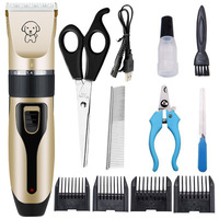 Set meal C01-Pet Clipper Dog Grooming haircut Trimmer Shaver Set