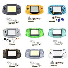 Nuovo Alloggiamento Pieno Borsette per Nintend Gameboy GBA Borsette Dura di Caso Con Lente Sostituzione Dello Schermo per Gameboy Advance Console Custodia