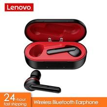Lenovo HT28 TWS Vero Senza Fili di Bluetooth 5.0 Auricolare Auricolari Bassi Profondi HD Stereo In Ear Con Cancellazione del Rumore MP3 Auricolare per il Microfono