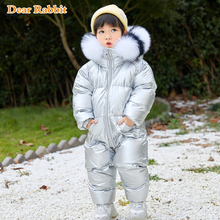 Romper Boy Snowsuit Down-Jacket Baby-Girl Infant Winter Outdoor 1-5 Duck Warm Climbing