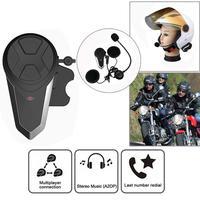 BT S3 1000M Motorcycle BT Interphone Motorbike Helmet Wireless Intercom FM Headset Portable Mini Interphone|Helmet Headsets|Automobiles & Motorcycles -
