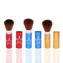 New Portable makeup brushes set professional Retractable Makeup Brush tools Powder Brush недорого