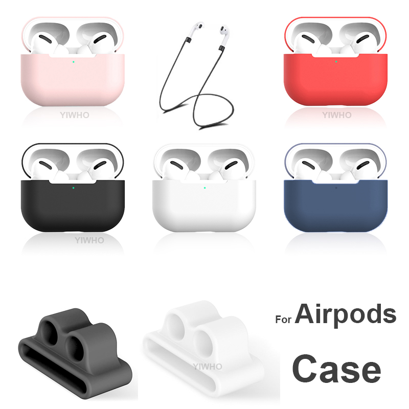 Soft Silicone Case For apple Airpods Pro Accessories Air Pods pro 3 Wireless Earphone Headphone Headset Cover Air podsPro Shell
